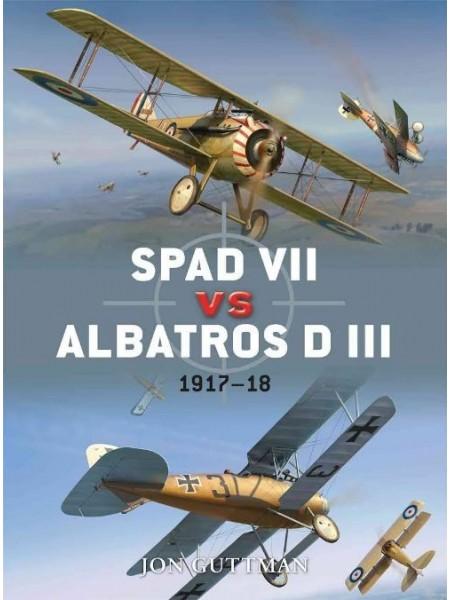 SPAD VII VS ALBATROSS DIII - OSPREY DUEL N°36 - Livre