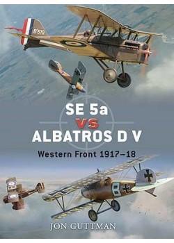 SE5a VS ALBATROSS D V - 1918 - OSPREY DUEL N°20