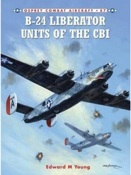 B-24 LIBERATOR UNITS OF THE CBI - COMBAT AIRCRAFT 87  - Livre