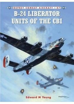 B-24 LIBERATOR UNITS OF THE CBI - COMBAT AIRCRAFT 87  - Livre