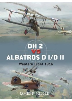 DH-2 VS ALBATROSS DI/DII - OSPREY DUEL N°42 - Livre