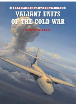 VALIANTS UNITS OF THE COLD WAR - COMBAT AIRCRAFT 95 - Livre