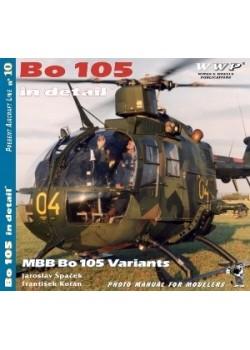 MBB BO-105 IN DETAIL - WWP - Livre