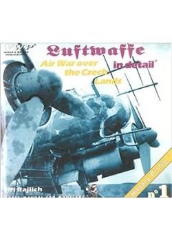 LUFTWAFFE IN DETAIL - AIR WAR OVER THE CZECH LANDS - WWP - Livre