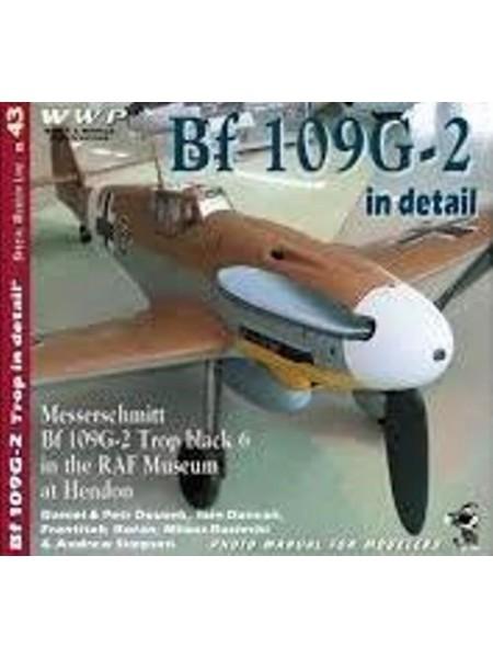 MESSERCHMITT BF109G-2 IN DETAIL - WWP - Livre