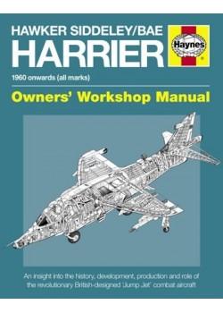HAWKER SIDDELEY / BAE HARRIER OWNER WORSHOP MANUAL