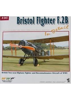 BRISTOL FIGHTER F.2B IN DETAIL - WWP - Livre