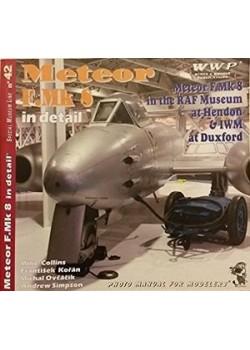 GLOSTER METEOR F.MK 8 IN DETAIL - WWP - Livre