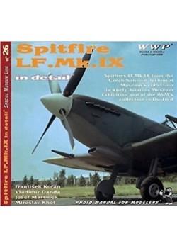 SPITFIRE LF-MK-IX IN DETAIL - WWP - Livre