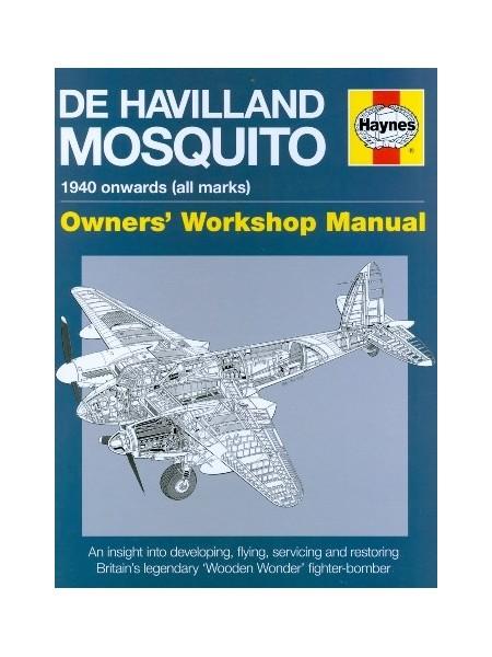 DE HAVILLAND MOSQUITO - OWNER'S SERVICE MANUAL