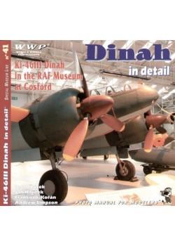 MITSUBISHI KI-46 III DINAH IN DETAIL - WWP - Livre