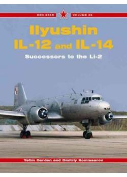 ILYUSHIN IL-12 AND IL_14 - RED STAR SERIE - Livre