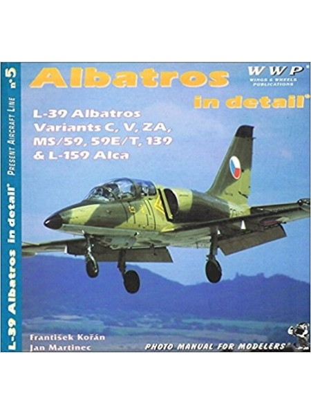 L-39 ALBATROSS IN DETAIL - WWP - Livre