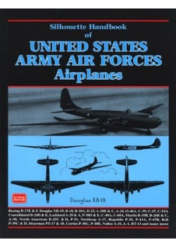 SILHOUETTE HANDBOOK OF US ARMY AIR FORCE AIRPLANES WW2