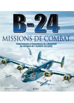 B-24, MISSIONS DE COMBAT
