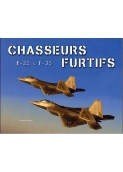 CHASSEURS FURTIFS F-22 & F-35 - Livre