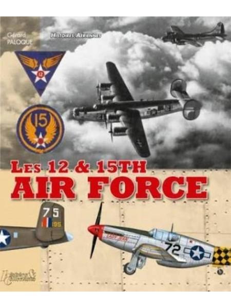 LES 12 & 15TH AIR FORCES - Livre