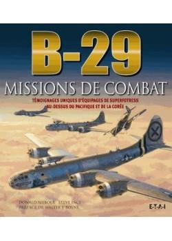 B-29, MISSIONS DE COMBAT
