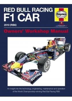 RED BULL RACING F1 CAR MANUAL 2010 RB6 - OWNERS WORKSHOP MANUAL