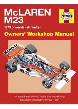 MC LAREN M23 1973 onwards (all marks) OWNER'S WORKSHOP MANUAL