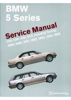 BMW 5 SERIES SERVICE MANUAL 1989-1995 - E34 WM