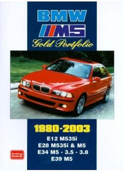BMW M5 GOLD PORTFOLIO 1980-2003