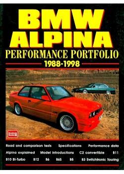 BMW ALPINA - PERFORMANCE PORTOFOLIO 1988-98