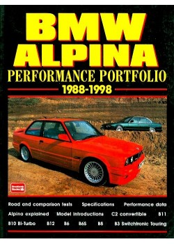 BMW ALPINA - PERFORMANCE PORTOFOLIO 1988-98