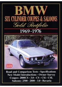 BMW 6 CYL COUPES SALOON GOLD PORTFOLIO 1969-76