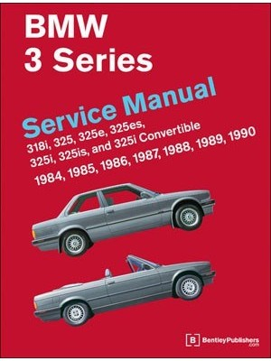 BMW 3 SERIES - SERVICE MANUAL (E30) 1984-1990