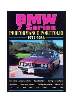 BMW 7 SERIES PERFORMANCE PORTFOLIO 1977-1986