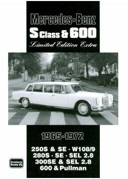 MERCEDES S CLASS & 600 1965-72 - LTD ED. EXTRA