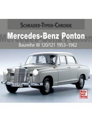 MERCEDES-BENZ PONTON Vom 180 Diesel bis zum 220 SE Cabriolet 1953-62