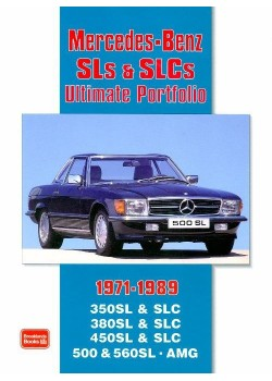 MERCEDES SLs AND SLCs 1971-89 - ULTIMATE PORTFOLIO