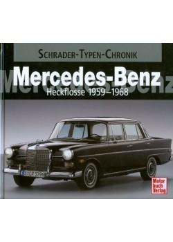 MERCEDES BENZ HECKFLOSSE 1959 - 1958 - SCHRADER TYPEN CHRONIK