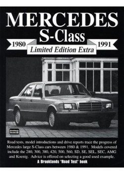MERCEDES S CLASS & 600 LIMITED EDITION EXTRA 1980-91