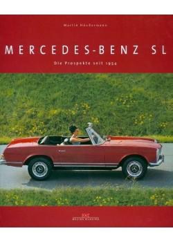 MERCEDES BENZ SL DIE PROSPEKTE SEIT 1954