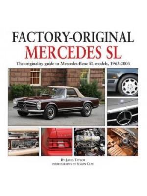 FACTORY-ORIGINAL MERCEDES SL & SLC 1963-2003