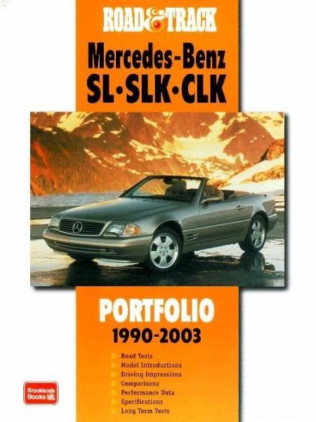 MERCEDES SL SLK CLK 1990-2003 - ROAD & TRACK