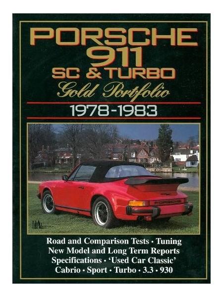 PORSCHE 911 SC & TURBO 1978-83 GOLD PORTFOLIO