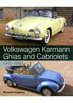 VOLKSWAGEN KARMAN GHIA & CABRIOLETS 1949-80