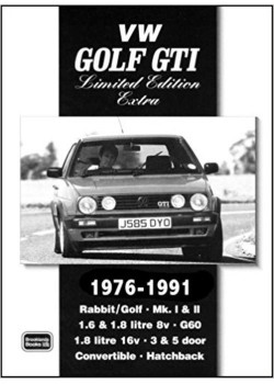 VW GOLF GTI LIMITED ED. EXTRA 1976-90