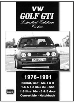 VW GOLF GTI LIMITED ED. EXTRA 1976-90