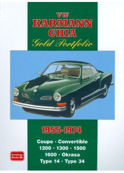 VW KARMAN GHIA GOLD PORTFOLIO 1955-74