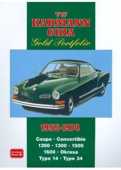 VW KARMAN GHIA GOLD PORTFOLIO 1955-74