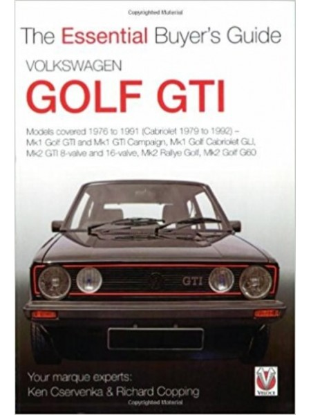 VW GOLF GTI ESSENTIAL BUYER'S GUIDE