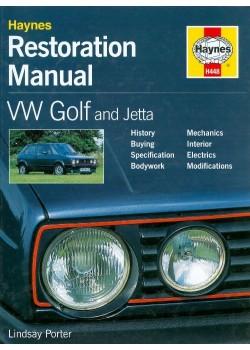 VW GOLF AND JETTA - HAYNES RESTORATION MANUAL