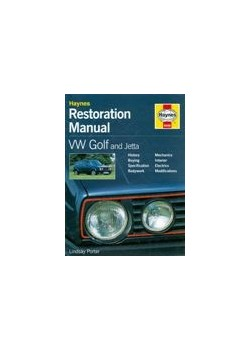 VW GOLF AND JETTA - HAYNES RESTORATION MANUAL