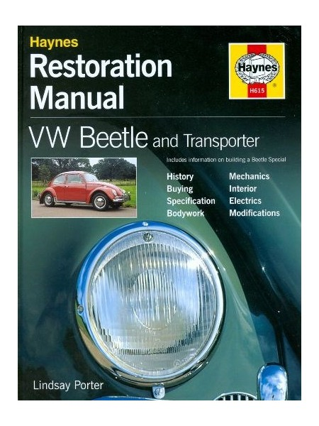 VW BEETLE RESTORATION MANUAL