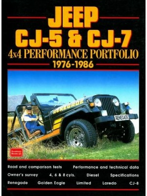 JEEP CJ-5 & CJ-7 1976-1986 4X4 PERFORMANCE PORTFOLIO